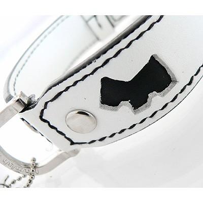 Hamish McBeth Leder-Halsband White