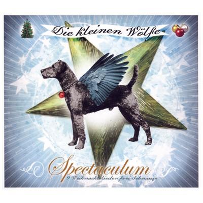 Hunde bellen Weihnachtslieder auf Musik-CD Die Kleinen Wölfe