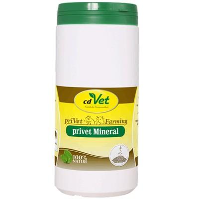 priVet Mineral von cdVet - Nährstoffe und Vitamine für Farmtiere