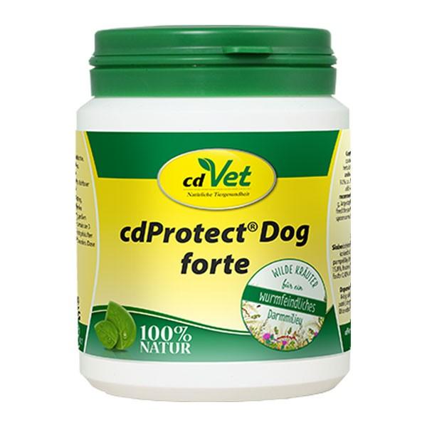 cdProtect Dog forte für wurmfeindliches Darmmilieu von cdVet