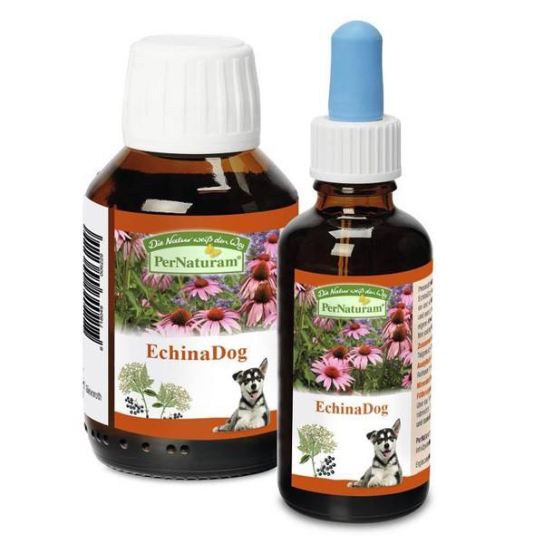 EchinaDog Kräutersaft für Immunsystem und Abwehr von PerNaturam