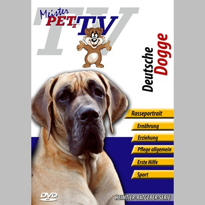 Deutsche Dogge Hunderasse-Video-Portrait auf DVD