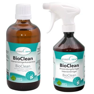 Bio-Clean Intensivreiniger bei Urin Fettflecken Gehege Stall etc