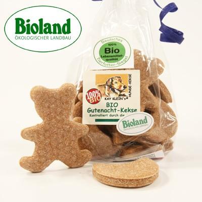 Gutenacht-Hundekekse mit Bioland-Zertifikat von Kay Klein's
