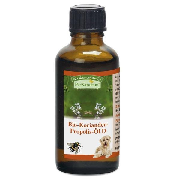 Bio-Koriander-Propolis-Öl D von PerNaturam zur Stabilisierung der Darmflora