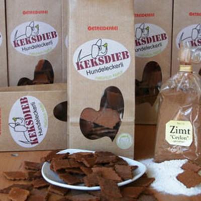 Getreidefrei - Buchweizen-Rauten mit Zimt von Keksdieb